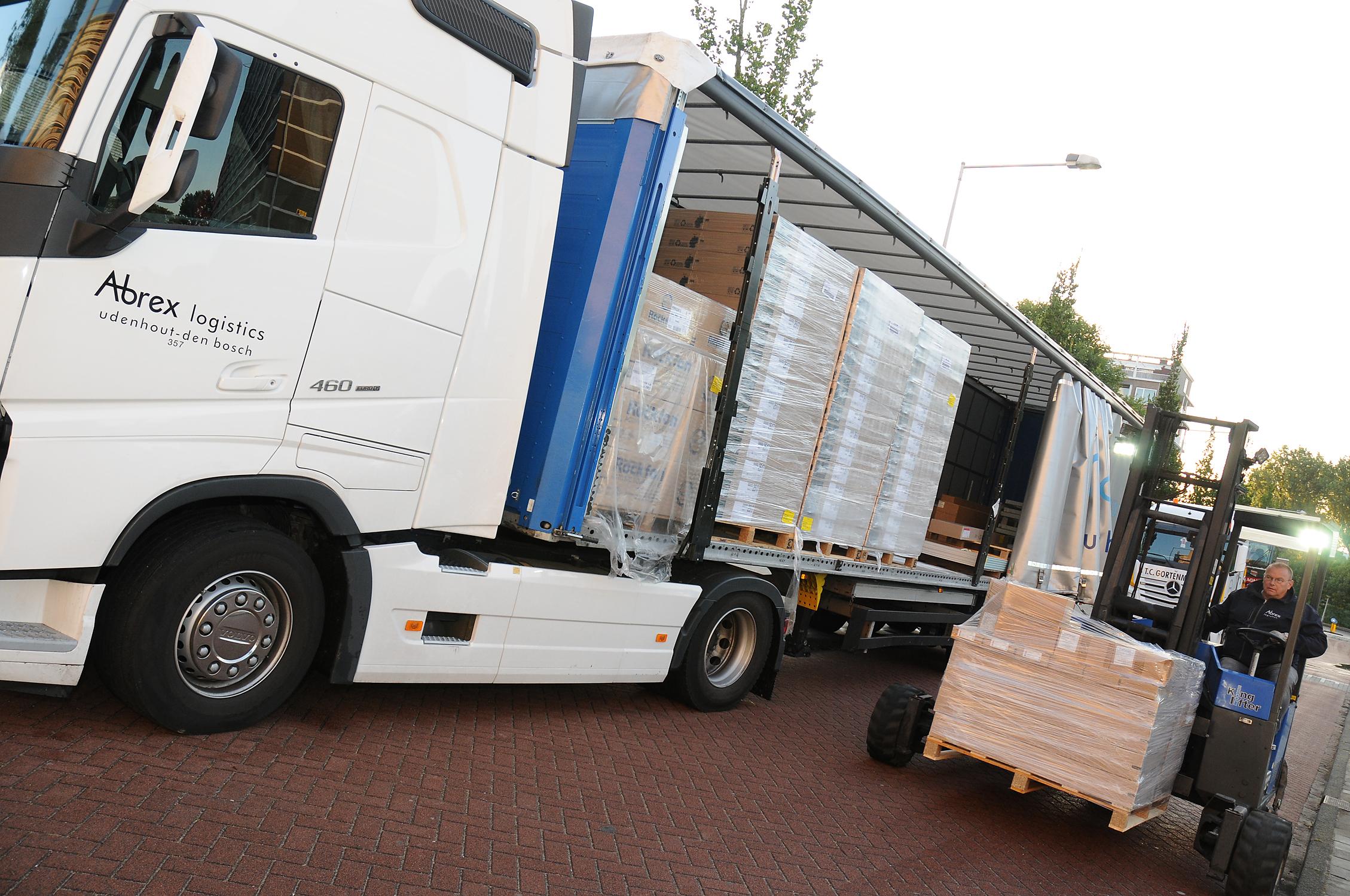 Chauffeur (bouw)materialen Distributie