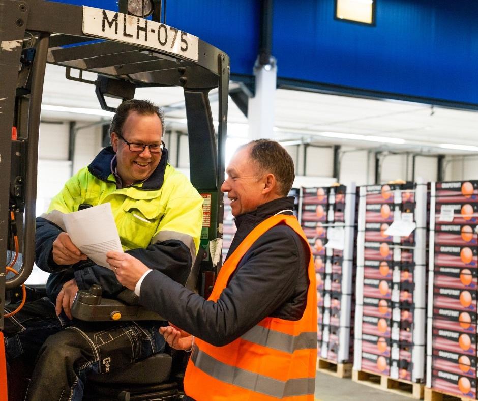 Logistiek medewerkers - heftruck VDH COMPANY