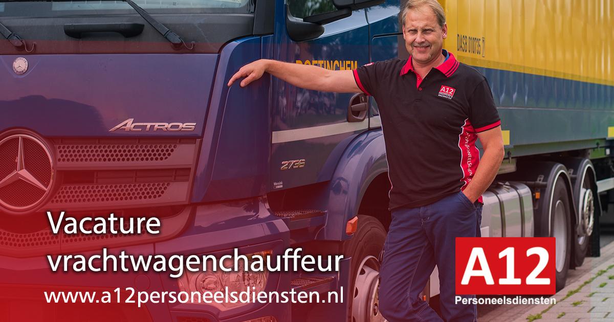 vrachtwagenchauffeur CE 9 (eierketen)