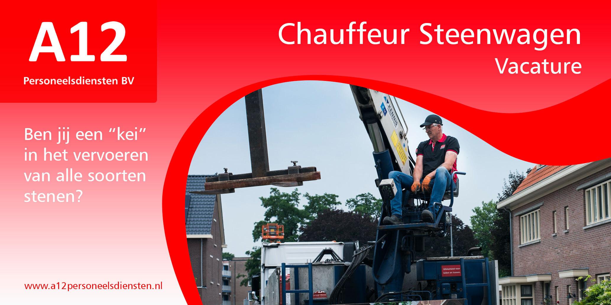 chauffeur steenwagen (Duiven / Nijmegen)