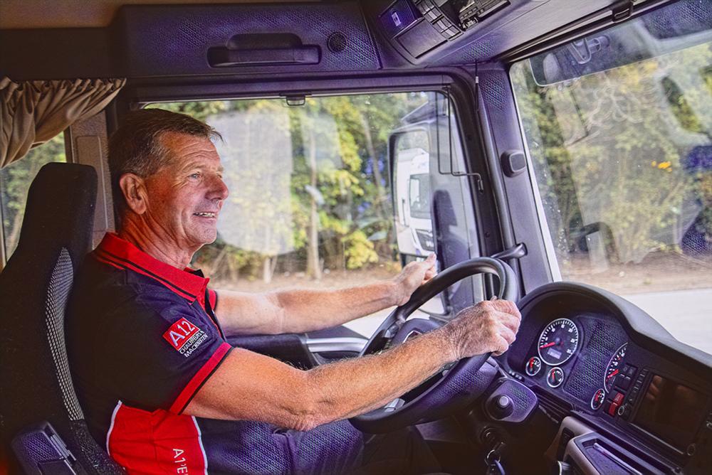 Vrachtwagenchauffeur CE Internationaal