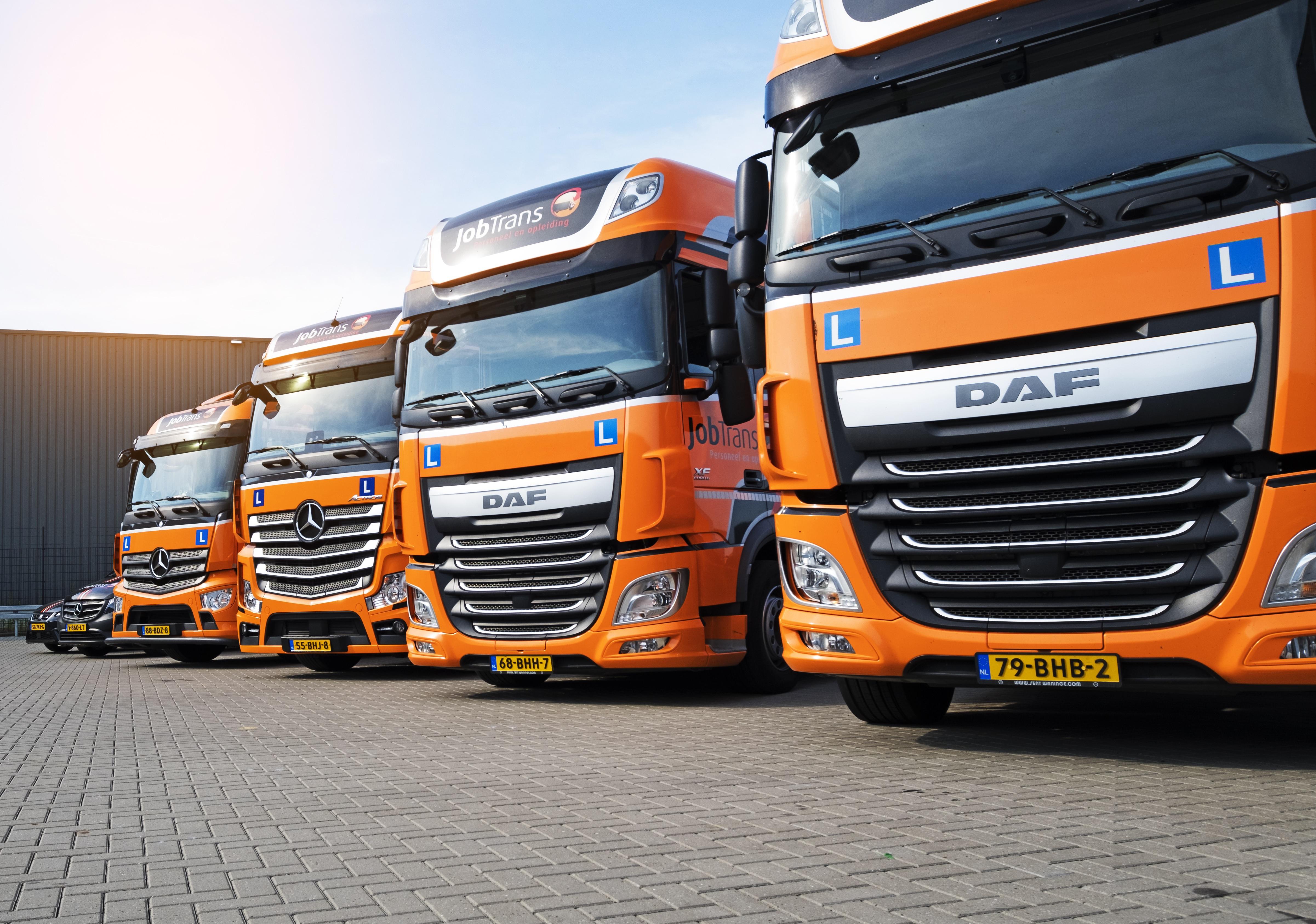 LZV vrachtwagenchauffeur in opleiding