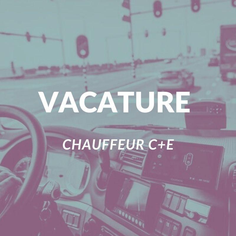 Chauffeur C of CE omgeving Arnhem