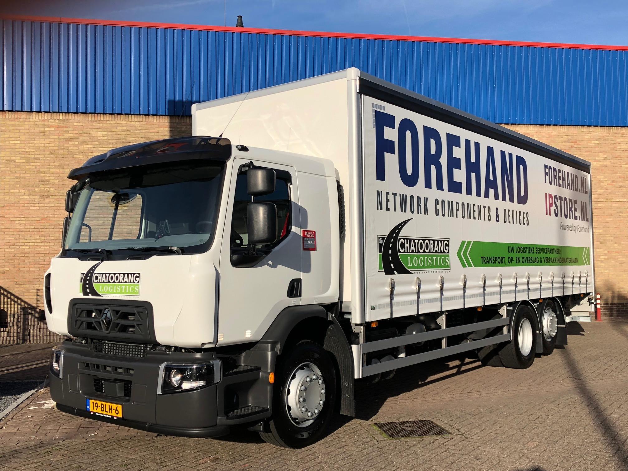 Vrachtwagen zoekt chauffeur (Dordrecht)