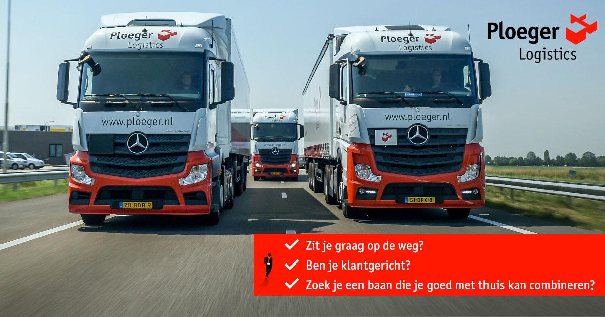 Chauffeur CE gezocht - standplaats Waalwijk