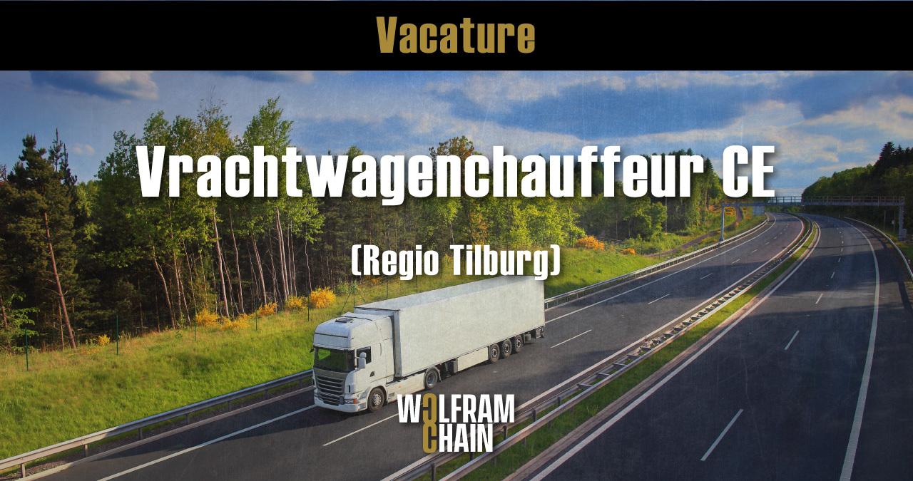 Vrachtwagenchauffeur CE - DC werk gezocht