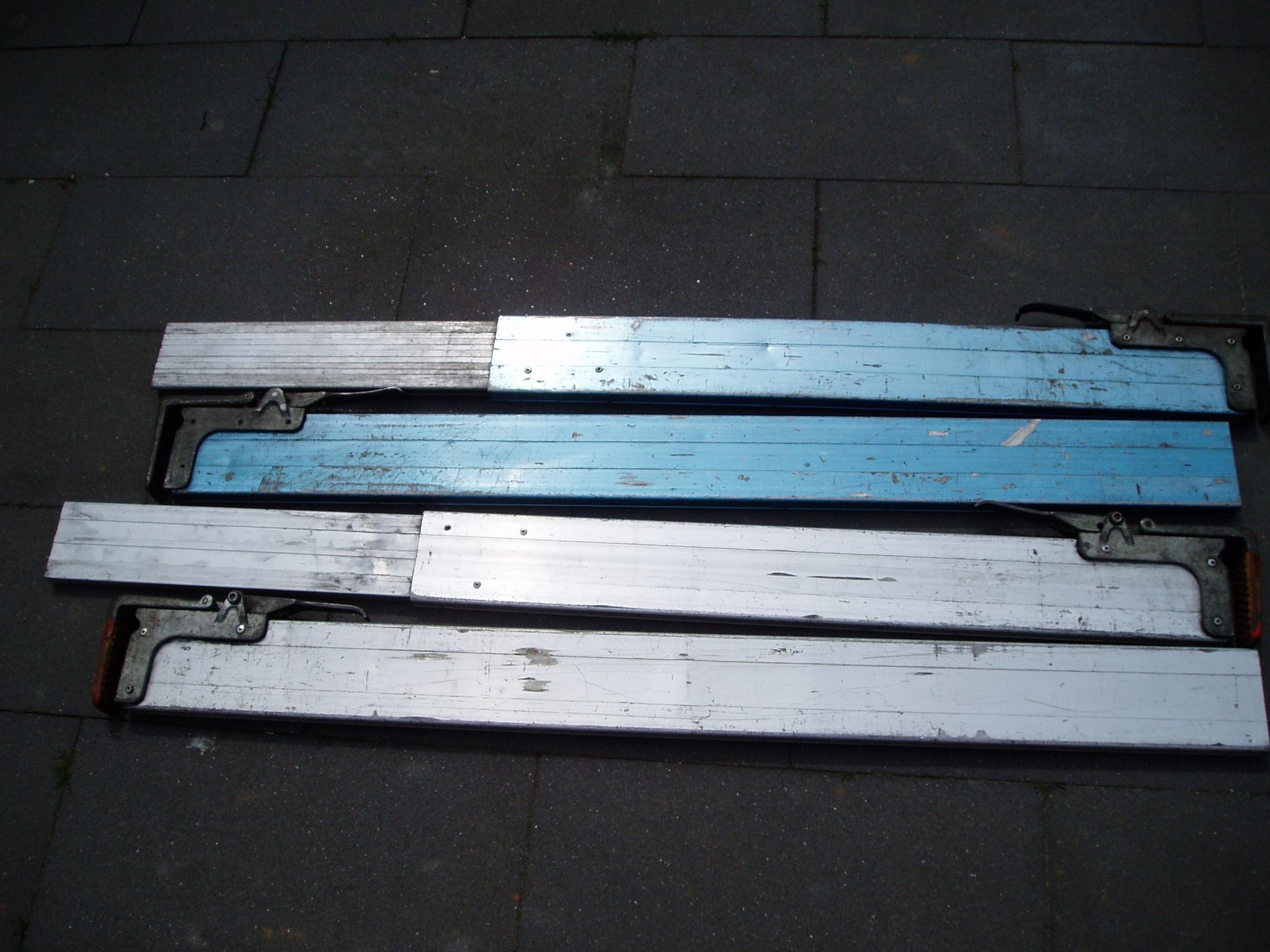 3x cargo vastzet planken