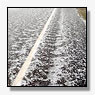 Hardnekkige hagel zorgt voor chaos rond A12