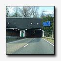 Drechttunnel gedeeltelijk afgesloten na ongeval met hoogwerker